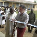 Antonio Benedini inaugura la scuola di Ketognakope in Togo
