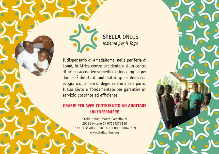 Adozione infermiere Togo Stella Onlus